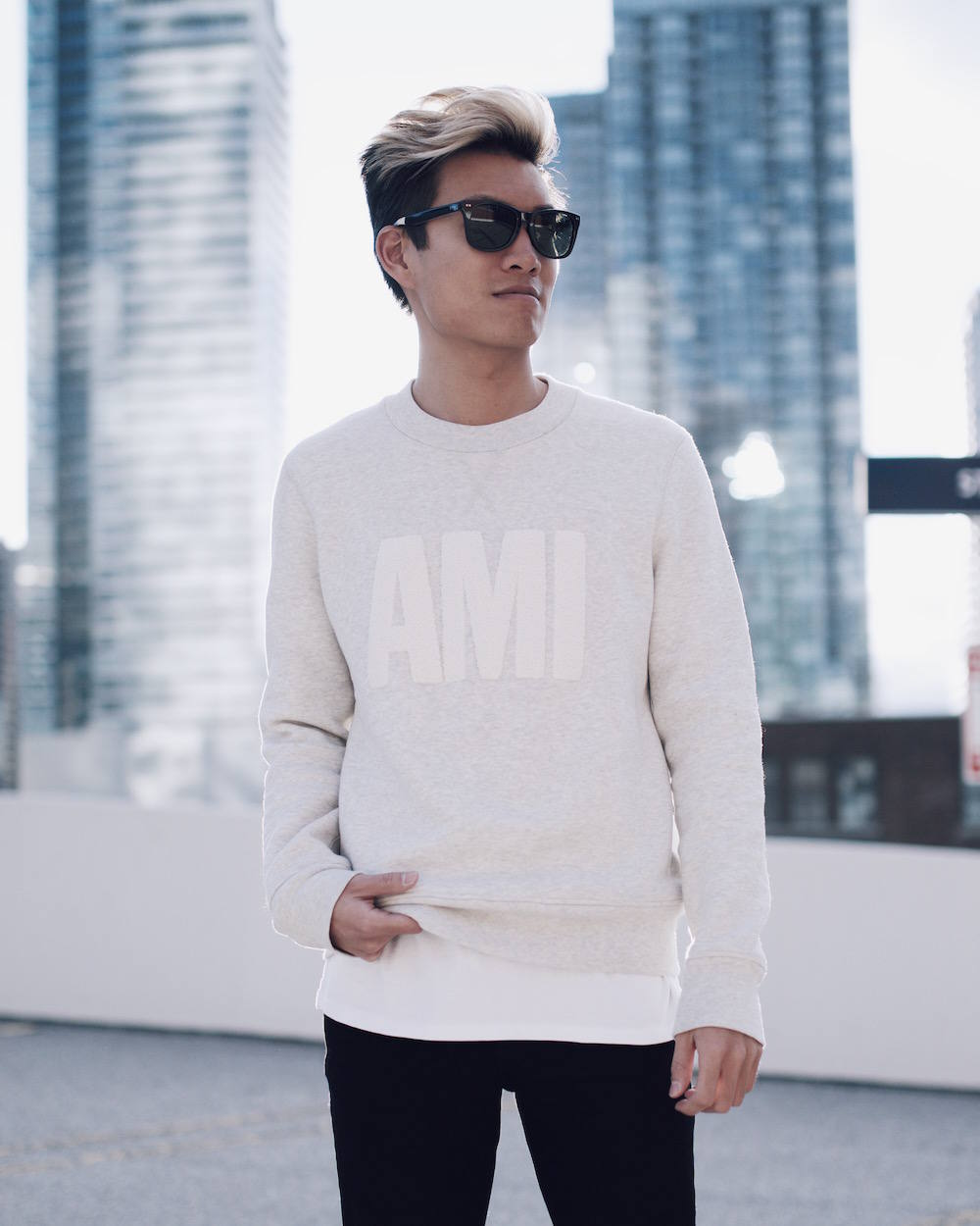 ami mens sweatshirt