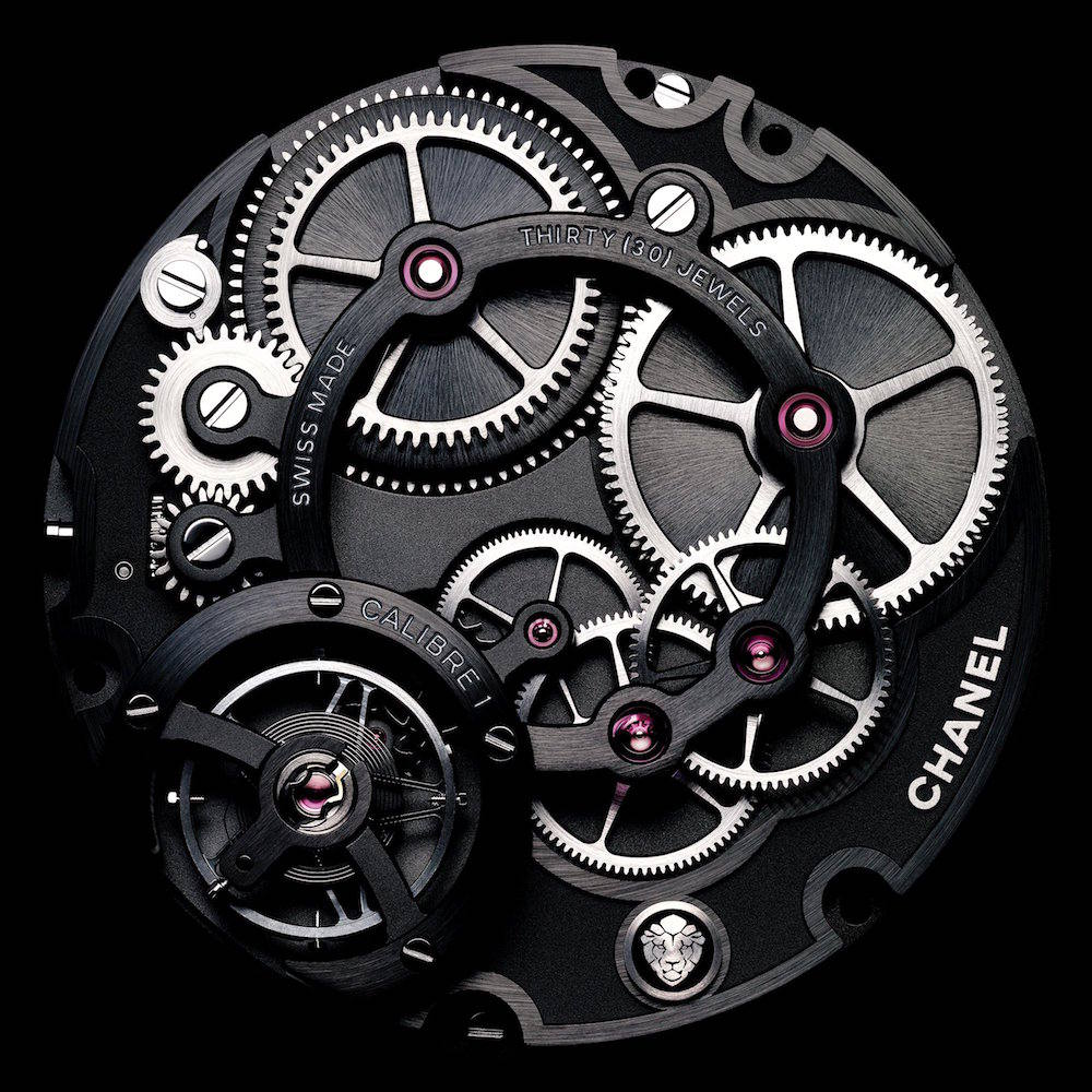 Monsieur de CHANEL watch movement