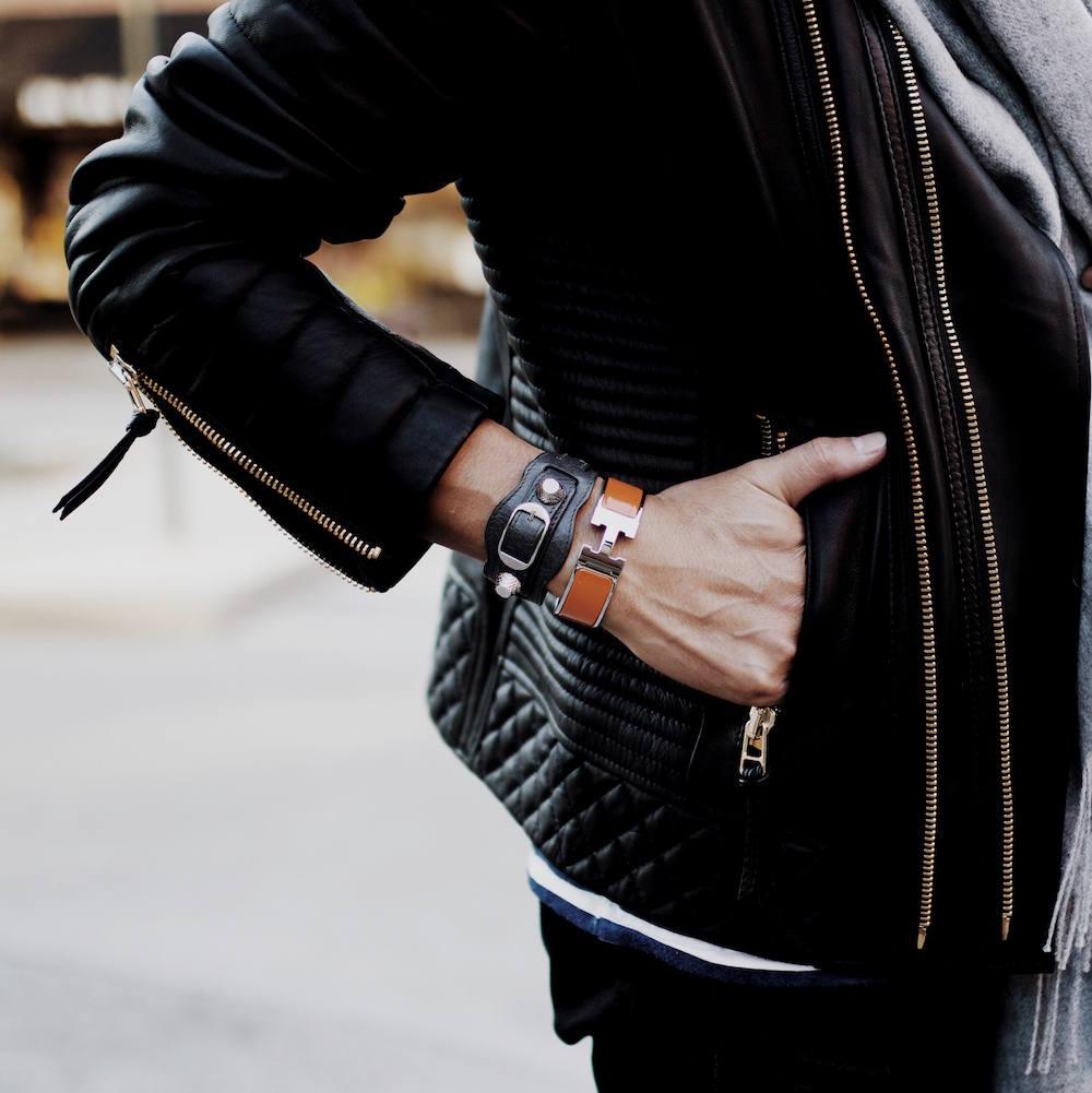 balenciaga hermes bracelet men