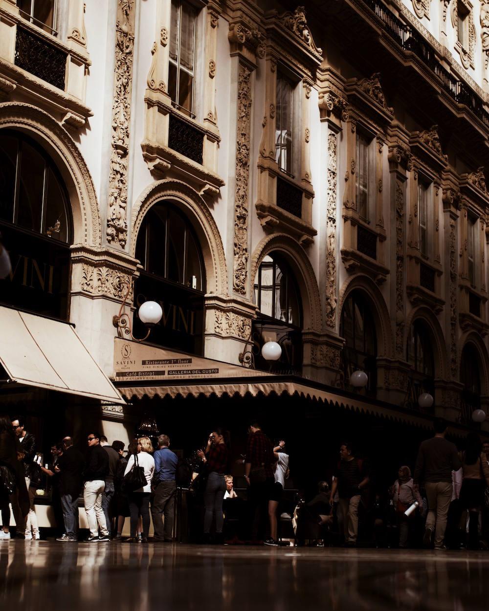 Galleria Vittorio Emanuele II duomo