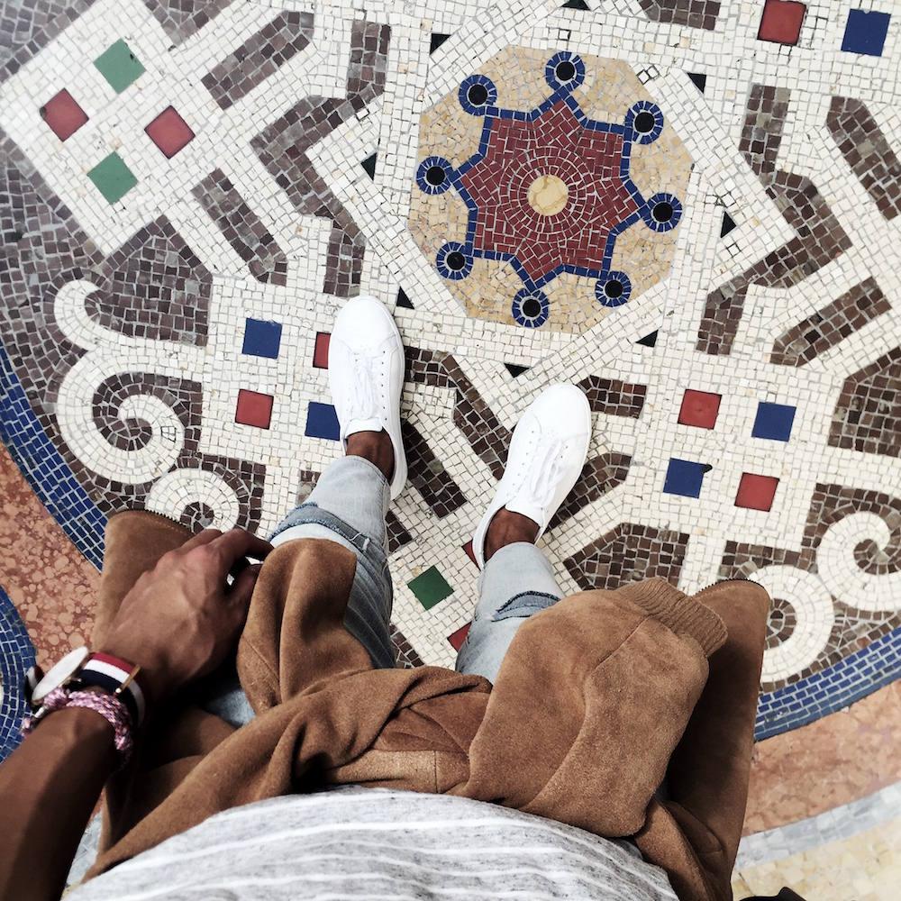 Galleria Vittorio Emanuele II floor