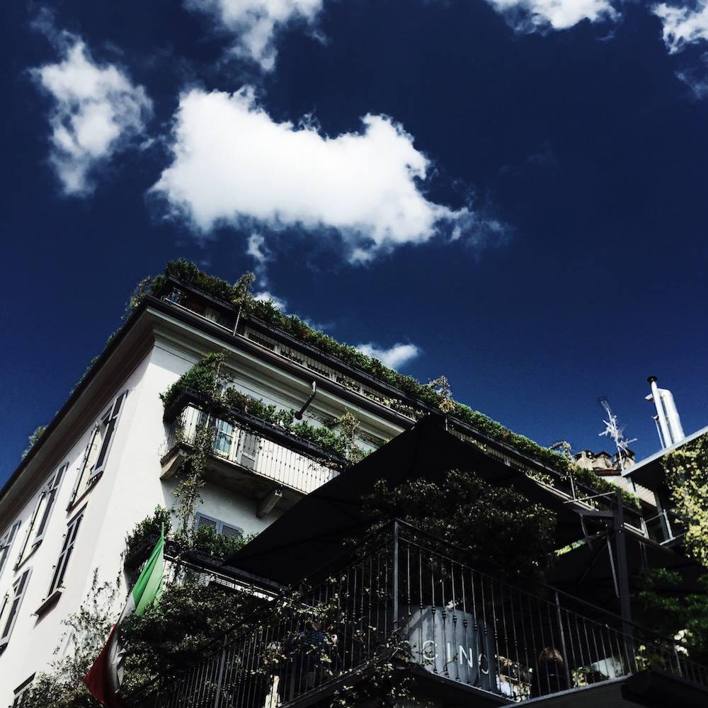 milan blue skies
