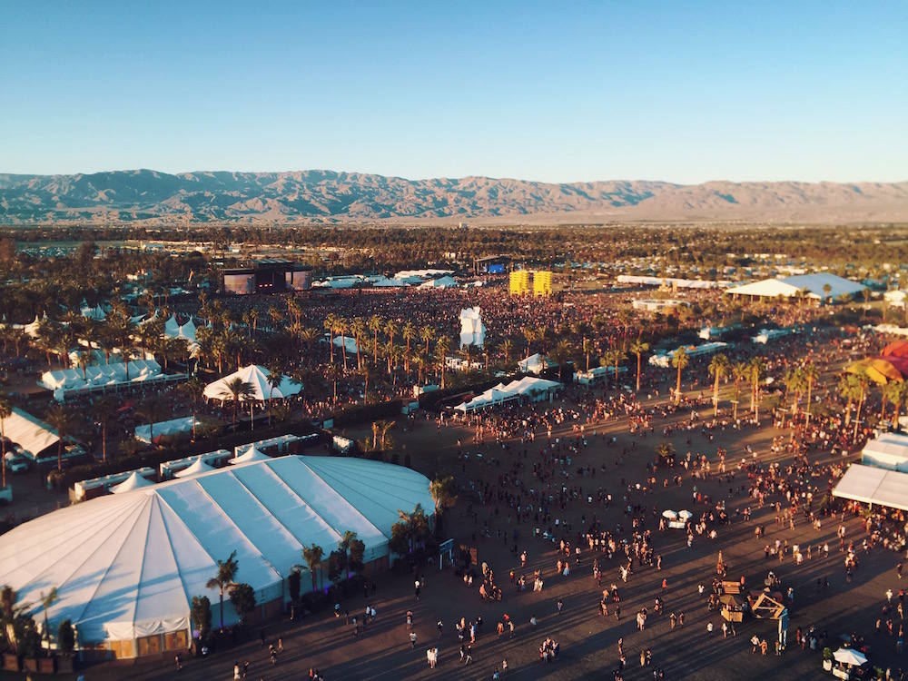 coachella birds eye view