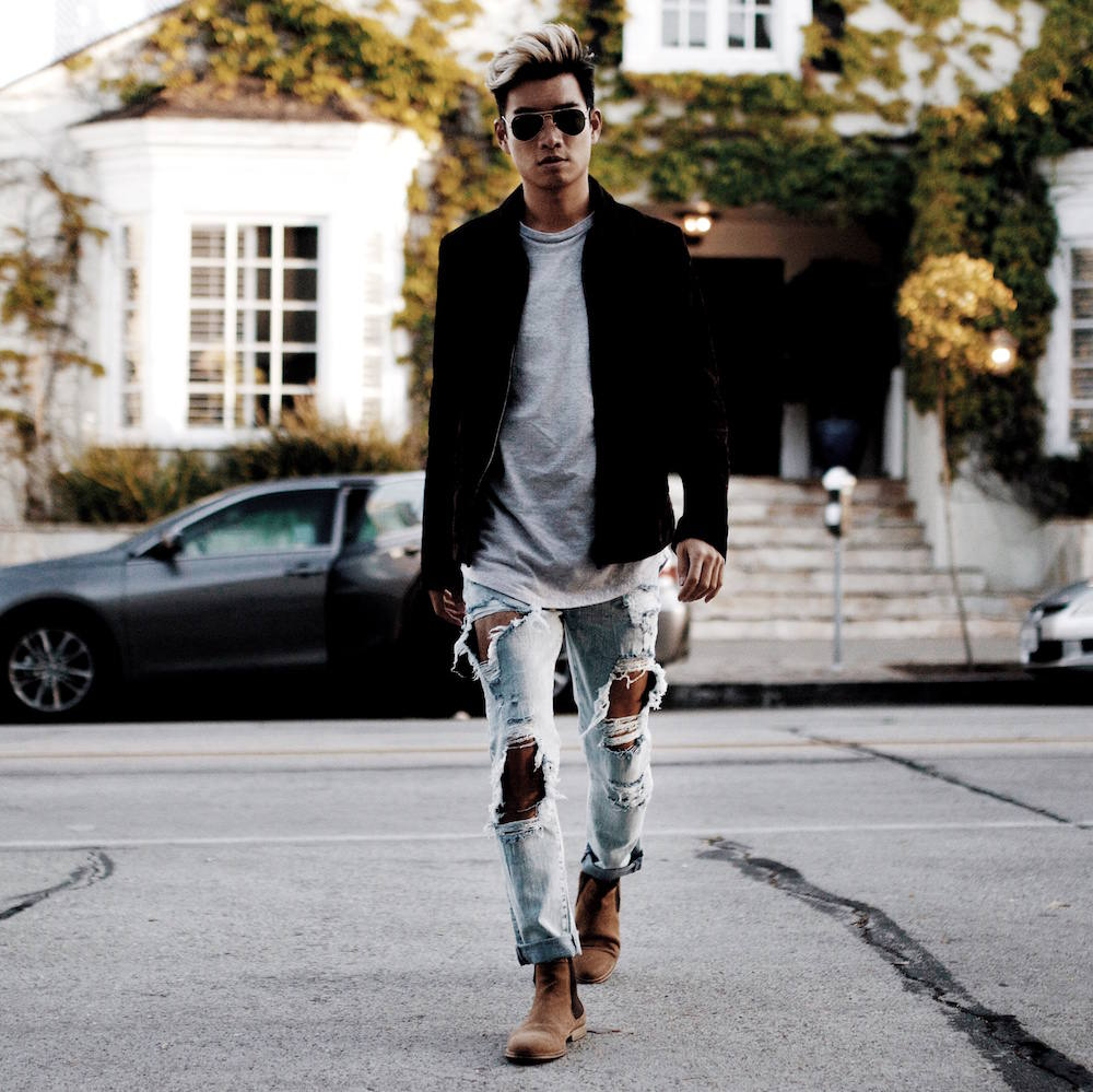 los angeles mens style