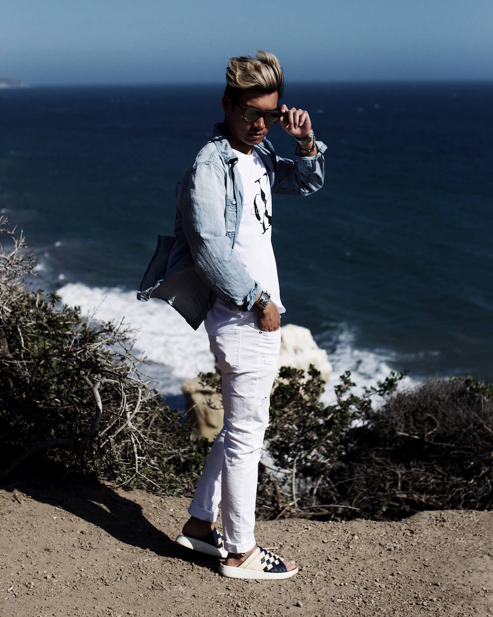 mens fashion malibu california