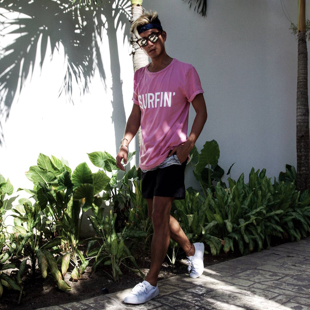 H&M surfin' t-shirt