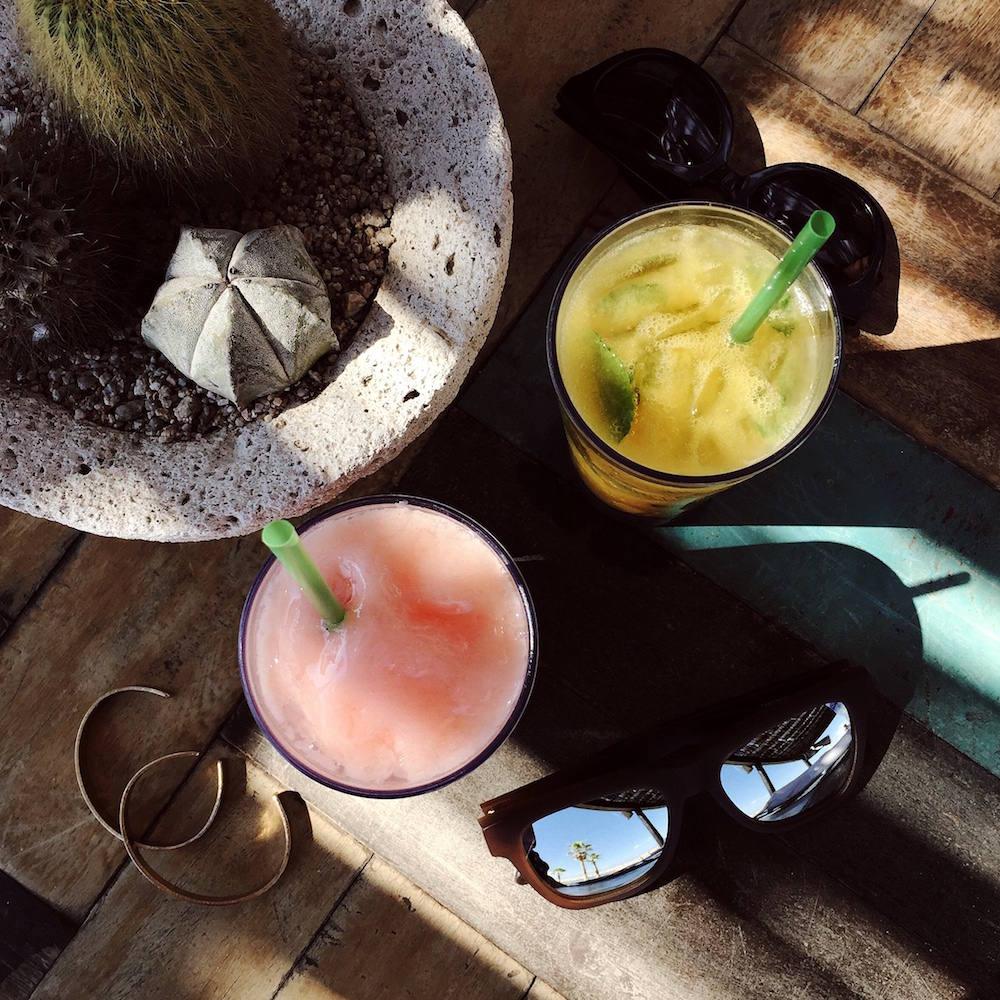 cabo beach drinks