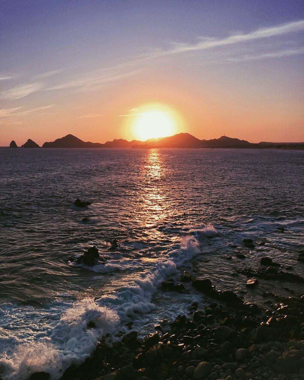sunset cabo san lucas