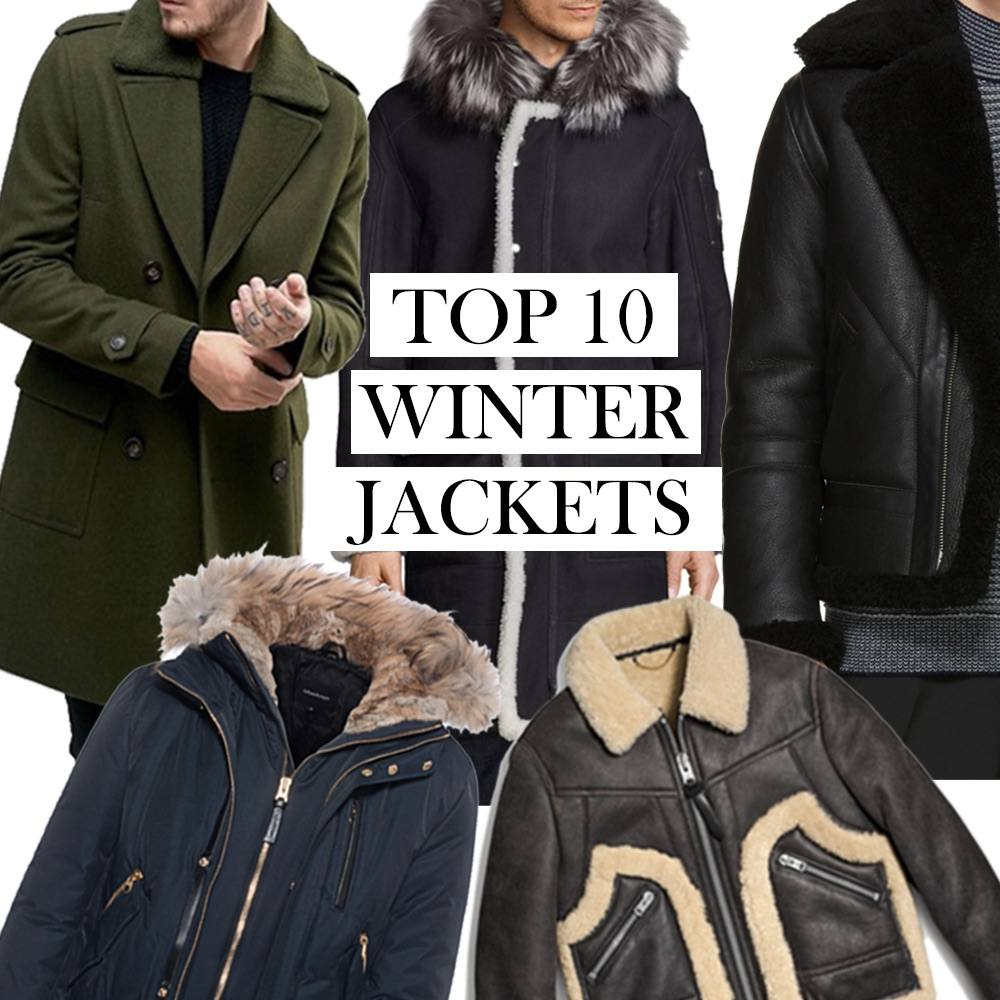 Top 10 Winter Jackets for Men