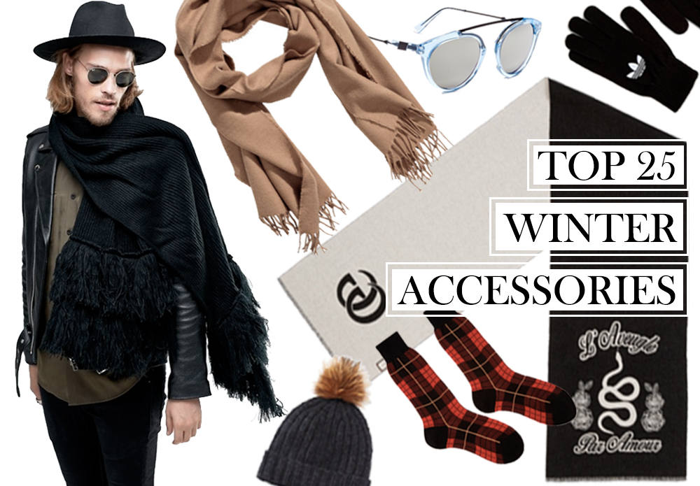 The 25 Best Men's Accessories to Conquer Winter in Style