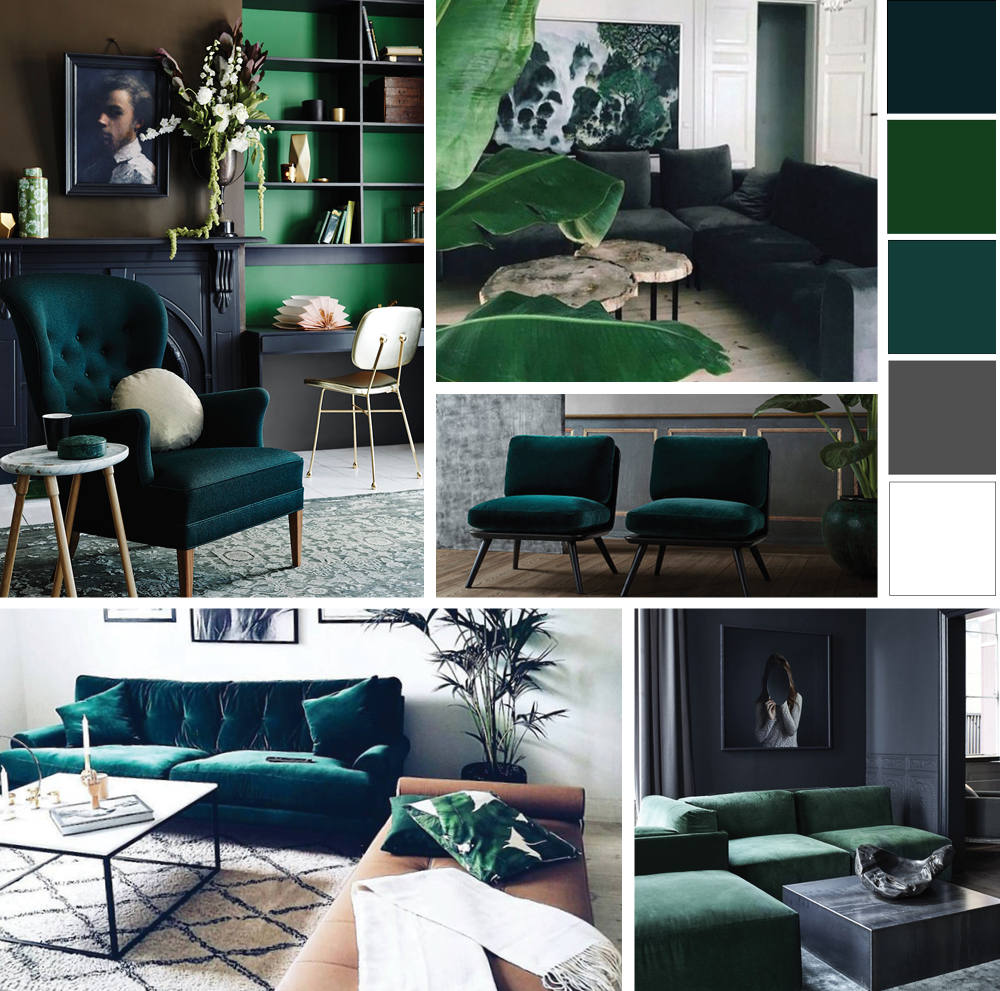 Home Inspired: Green Velvet