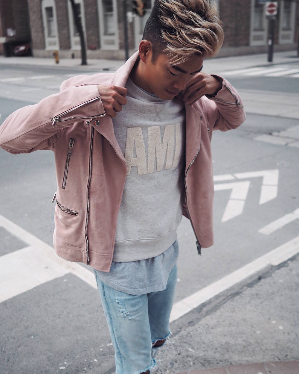 The Luxury of Pink Suede