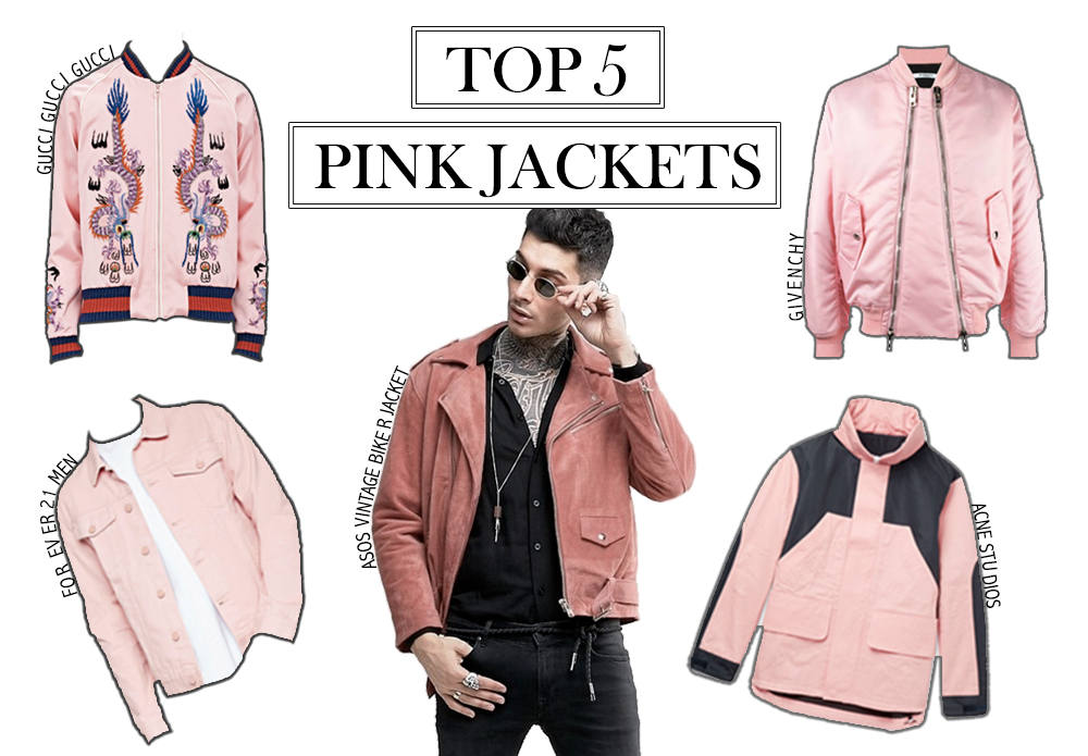 Top 5: Pink Jackets