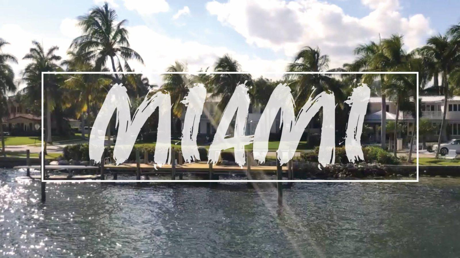 VIDEO: Miami Beach Vlog, Feb '17