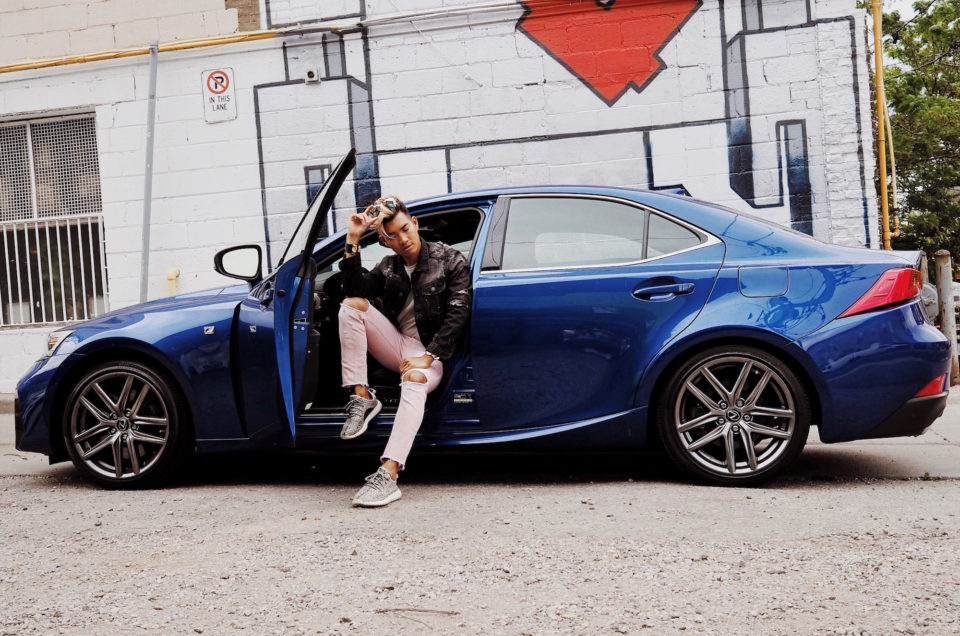Discovering the LEXUS IS with Toronto's Experiential Masters