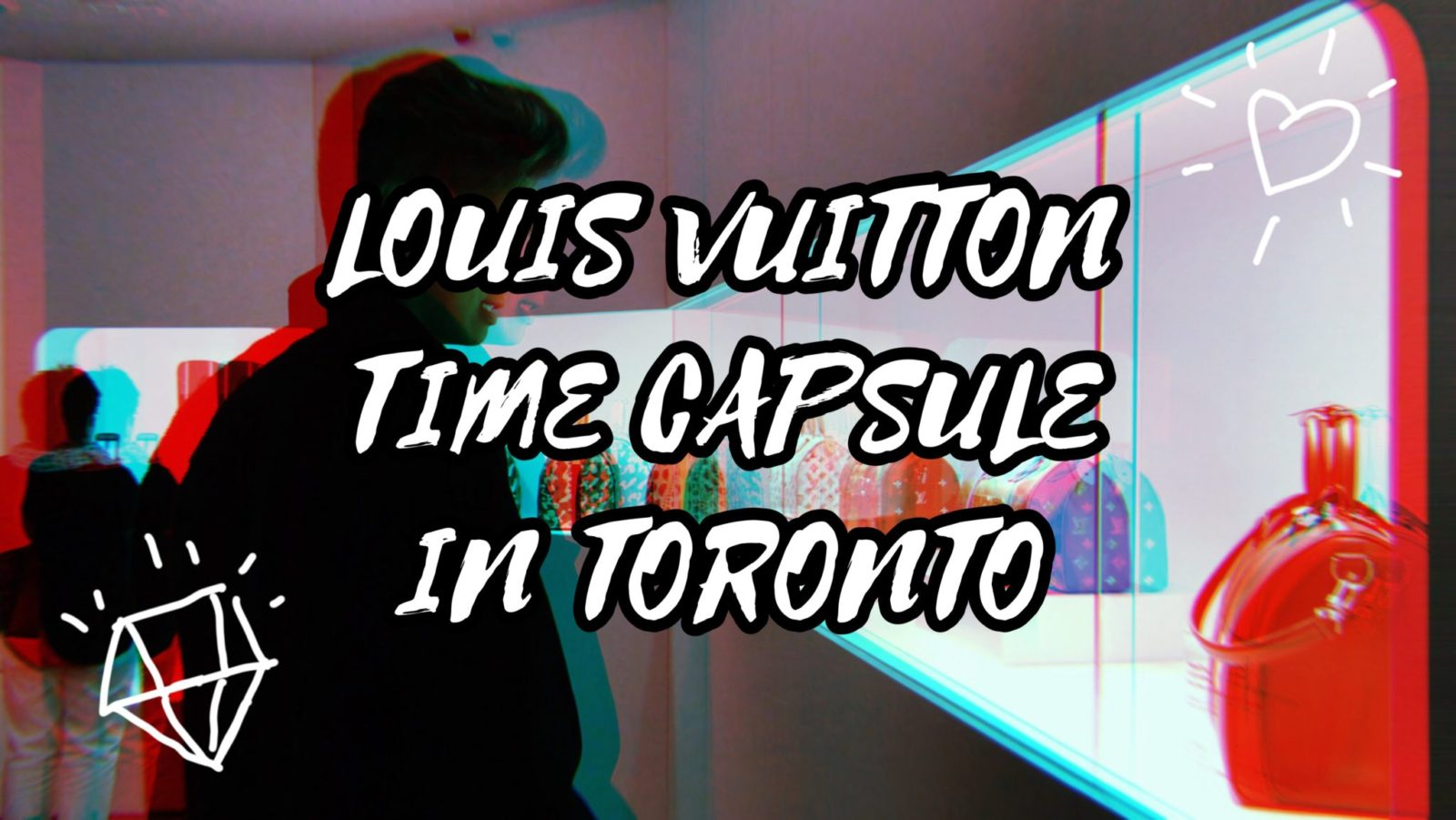 LOUIS VUITTON TIME CAPSULE IN TORONTO