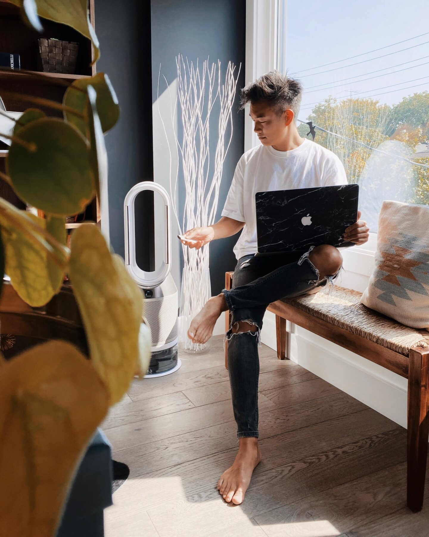 Refresh the air in your home with the Dyson Pure Humidify+Cool Air Purifier from Best Buy